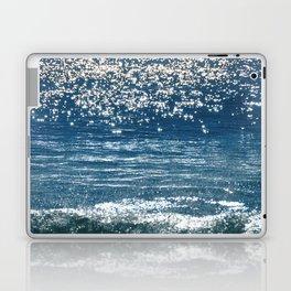 Blue Sea Sparkle Laptop & iPad Skin
