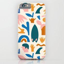 Vaya a la playa iPhone Case