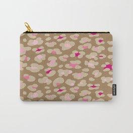 Safari Leopord Carry-All Pouch