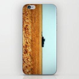 Golden Crop iPhone Skin