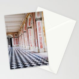 le couloir rose Stationery Cards