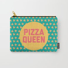 Pizza Queen Funny Quote (Graphic) Carry-All Pouch