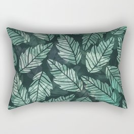Colorful leaves IV Rectangular Pillow