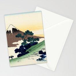 "Hokusai (1760-1849)  ""Inume Pass"" Stationery Cards"