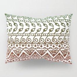 Holiday Henna Pattern Pillow Sham