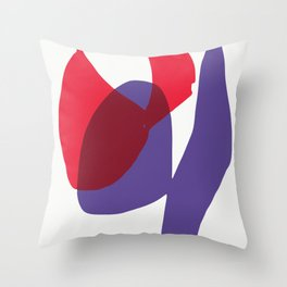 Matisse Shapes 9 Throw Pillow
