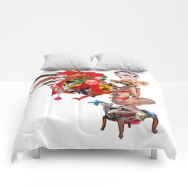 Skull Queen Ribbon Lion Witch Doctor Comforters