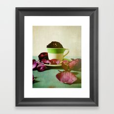Petals Unfold, Opening to Life Framed Art Print