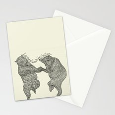 bears do dance! Stationery Cards