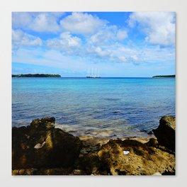Port Vila Bay Canvas Print
