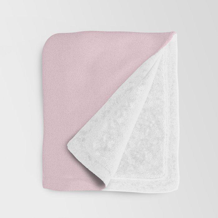 Pantone 13-2808 Ballet Slipper Throw Blanket