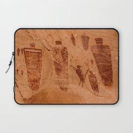Horseshoe Canyon Great Gallery Group 2 Pictographs Laptop Sleeve