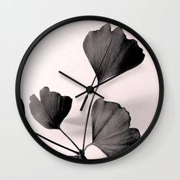 Ginkgo Still Wall Clock