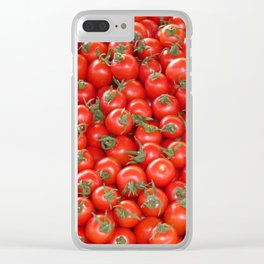 tomatoes Clear iPhone Case
