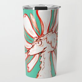 """Because You're You!!"" Flowerkid Travel Mug"