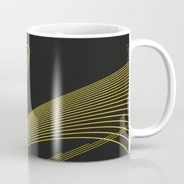 Gold Elegant -Piano Black- Coffee Mug