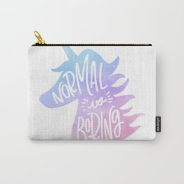 Normal Is Boring (Pastel) Carry-All Pouch