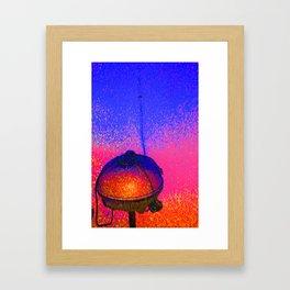 grilled Framed Art Print