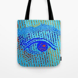 Queen Elizabeths Eyes Tote Bag