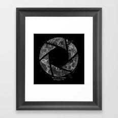 Traveling Lens Framed Art Print