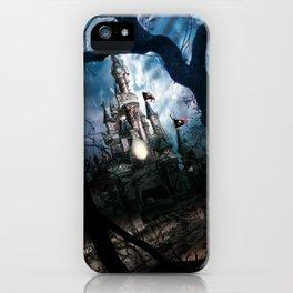 Dark Disney castle iPhone Case