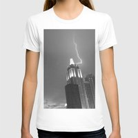 lightning T-shirts featuring Lightning by Melynda Nichole