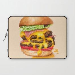 Juicy Cheeseburger Laptop Sleeve