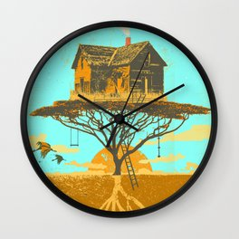 TREEHOUSE ROOTS Wall Clock