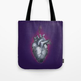 Heart and Thistle Tote Bag