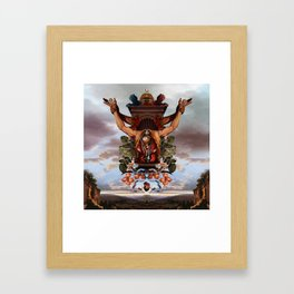 Sacrifice to Huitzilopochtli Framed Art Print