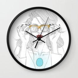 GOLDEN SHADES Wall Clock