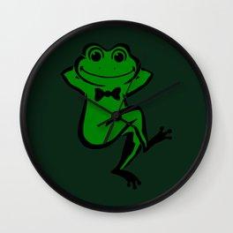 Froggo Wall Clock