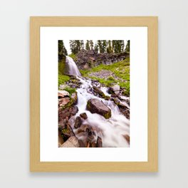 Plaikni Falls Framed Art Print