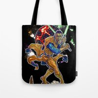 returns Tote Bags featuring Hope Returns by Artless Arts
