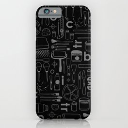 BIECTR_COMBO_NOIR-GRIS iPhone Case