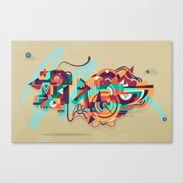 crossingbird Canvas Print
