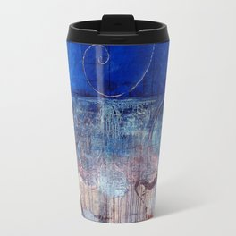 Chicxulub - Bluer version Travel Mug