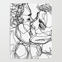 Boys kiss too Poster