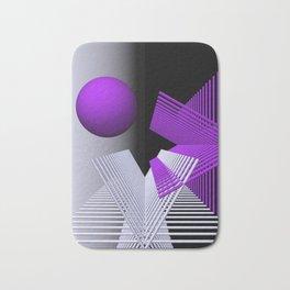 geometry violet -03- Bath Mat