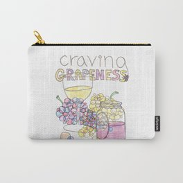 Craving Grapeness Carry-All Pouch