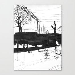 Railway I Canvas Print