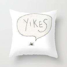 Spider. Throw Pillow