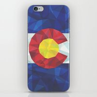 colorado iPhone & iPod Skins featuring Colorado by Fimbis