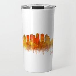 Phoenix Arizona, City Skyline Cityscape Hq v2 Travel Mug