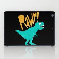 dino iPad Cases featuring Dino by Chelsea Herrick