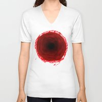 in the flesh V-neck T-shirts featuring Flesh Wound by suisalvadore-lemmons