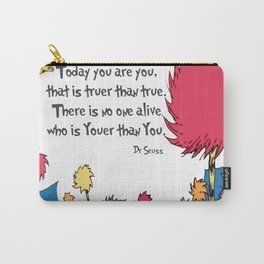 Lorax Quote Carry-All Pouch