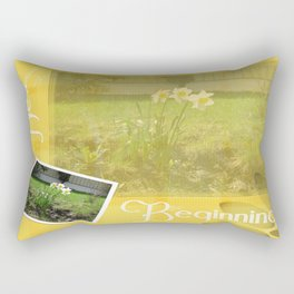 New Beginning Rectangular Pillow