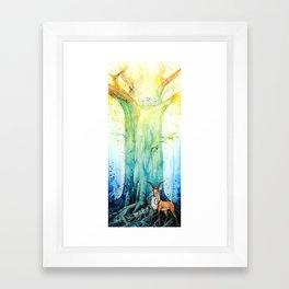 """At the tree's feet"" Framed Art Print"
