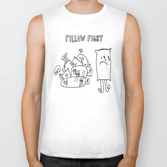 Pillow fight Biker Tank